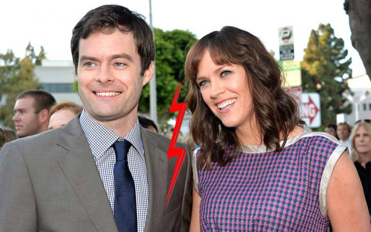 39 Years Comedian Bill Hader And Wife Maggie Carey Finalizing Their Divorce; Married Since 2006 They Share Three Children