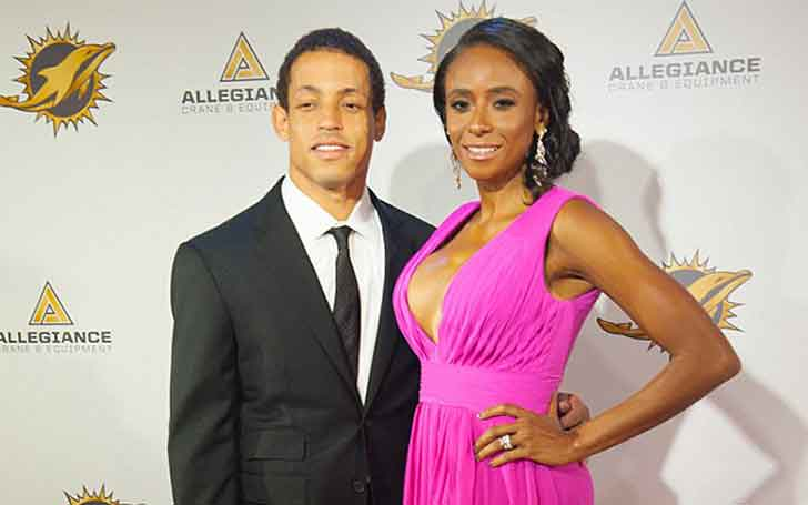 5.10 ft Tall NFL Player For 'Tampa Bay Buccaneers' Brent Grimes' Married Relationship With Wife Miko Grimes, Has A Son