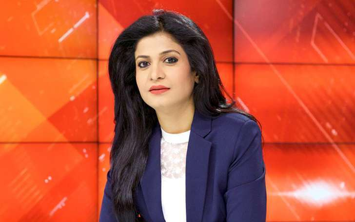 Gorgeous Indian Journalist Anjana Om Kashyap