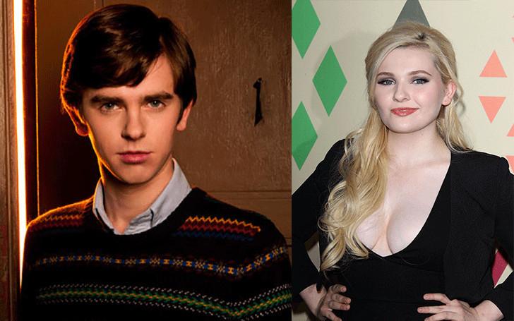 Abigail Breslin and her boyfriend, Freddie Highmore