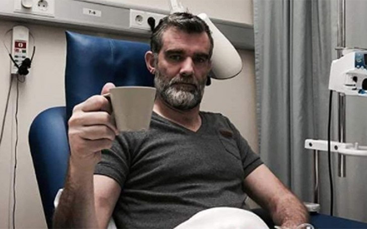 Actor Stefán Karl: Positive Cancer Update: A big Relief to his Wife and Children