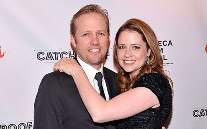 actress jenna fischer married her second husband in 2010 after divorce with ex spouse