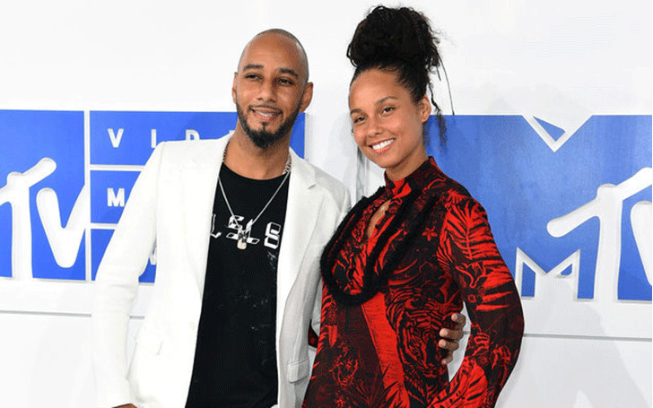 After Divorce with Mashonda, Swizz Beatz Married with his Wife Alicia Keys in 2010.