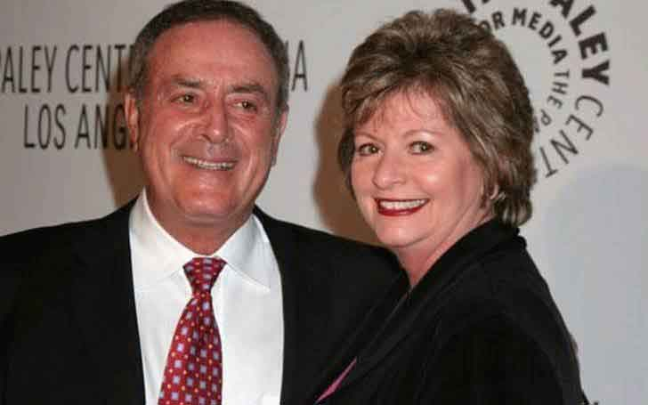 Together Forever; 50-Years Worth of Marriage; Al Michaels Married Wife Linda Anne Stamaton In 1966; Parent Of Two Children