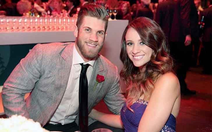 American Baseballer For 'Washington Nationals' Bryce Harper Is Married To Wife Kayla Varner Since 2016; The Couple Once Called Off Their Engagement