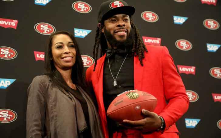 American Football Cornerback Richard Sherman's Married Relationship With Longtime Girlfriend Ashley Moss
