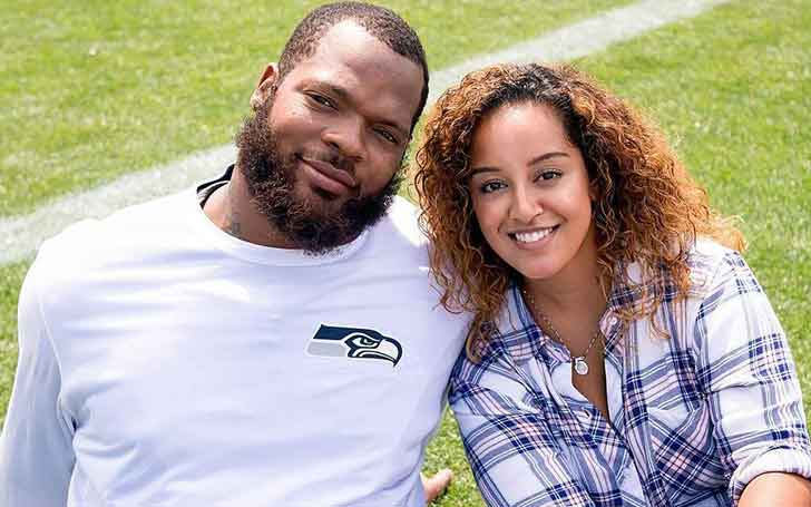 American Football Defensive Michael Bennett's Married Relationship With Wife Pele; Has Three Daughters