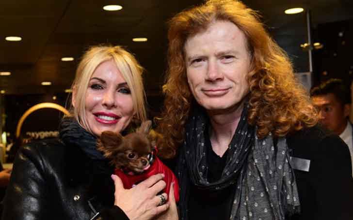 American Music Personality Dave Mustaine's Longtime Married Relationship With Wife Pamela Anne Casselberry; The Couple Shares A Daughter And A Son