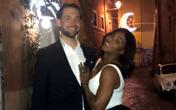 Baby Alert!!! American professional tennis player Serena Williams is having her first Child with Fiancé Alexis Ohanian. Congratulation to the couple