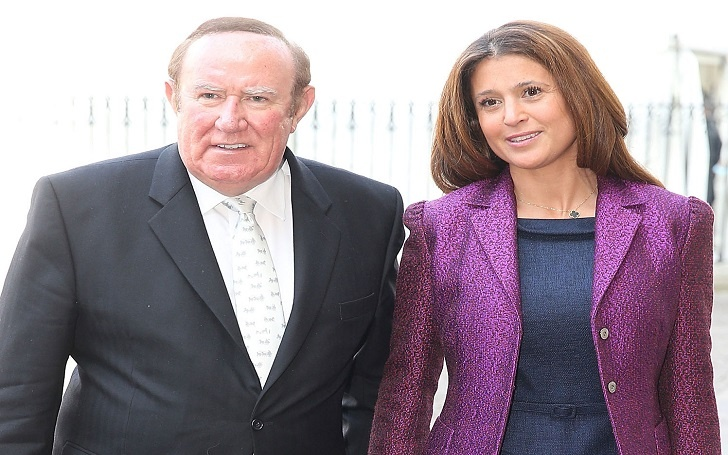 Andrew Neil, 68, Married Wife Susan Nilsson, 46 in 2015: See the Relationship of the Couple