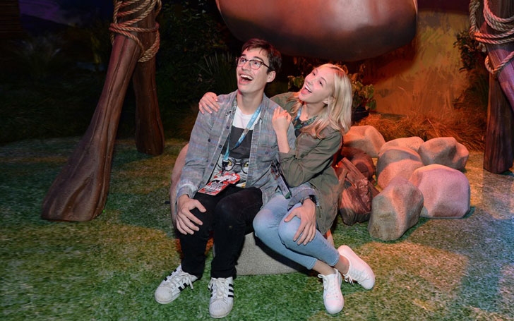 Know about the adorable relationship of Audrey Whitby and Joey Bragg. Hollywood's cutest couple