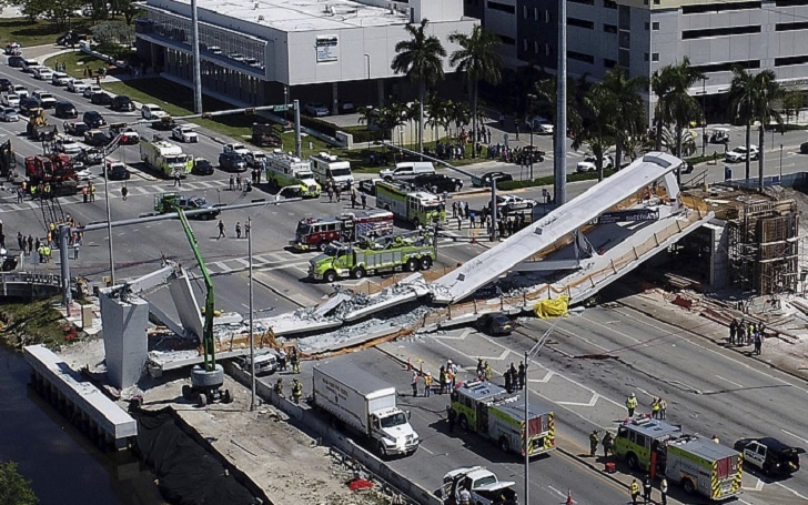 At Least 6 Killed In Pedestrian Bridge Collapse In Miami, Florida