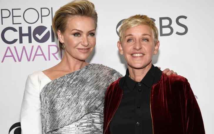 Australian-American Model Portia de Rossi Married Twice; Celebrating 10 Years Of Wedding Relationship With Spouse Ellen DeGeneres