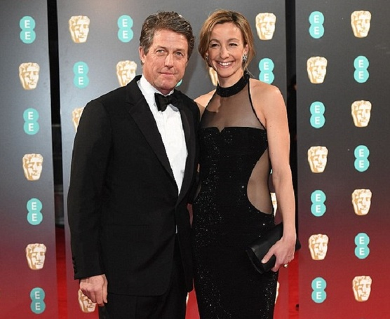 Baby On Board!! Hugh Grant Is Expecting Fifth Child With Girlfriend Anna Eberstein!