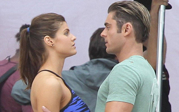 Baywatch co-actors Alexandra Daddario and Zac Efron are rumored to be dating each other