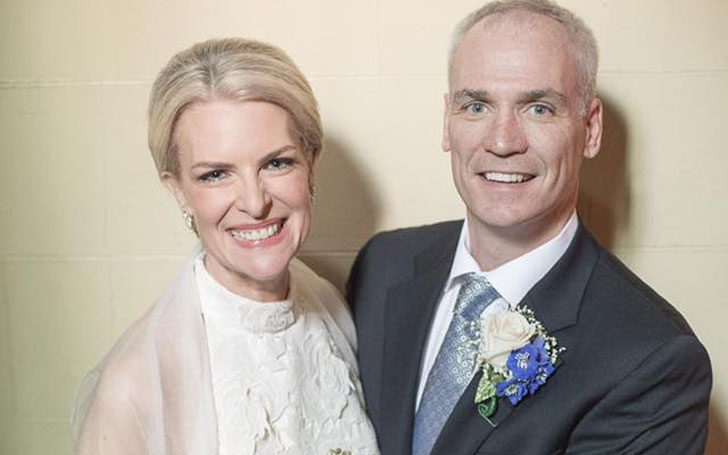 Canadian Meteorologist Janice Dean recreates her wedding day to celebrate 10 years of Married life.