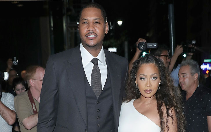 It's Over!!! La La Anthony finally splits from Husband Carmelo Anthony. Reportedly he cheated on her with a stripper