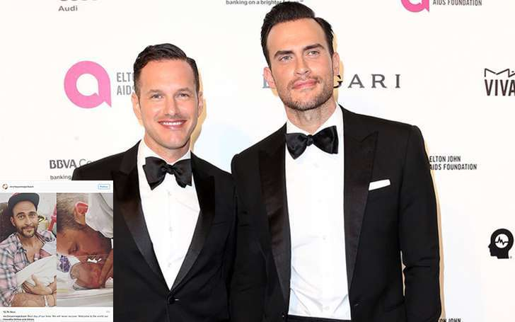 Cheyenne Jackson and his husband Jason Landau has recently welcomed their twin babies together: Couple got married in 2014