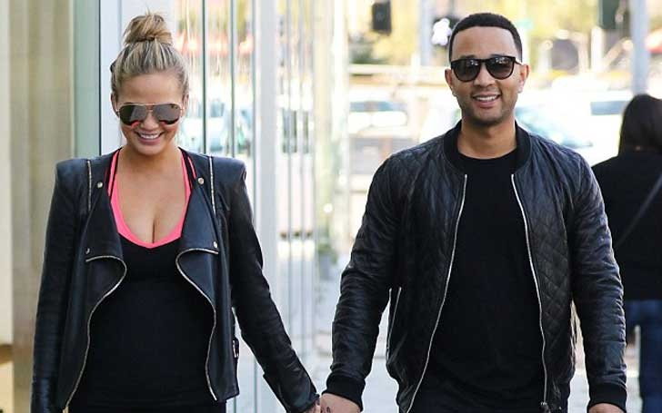 Chrissy Teigen's funny trolls on Twitter; Relating to her second Child and Husband John Legend