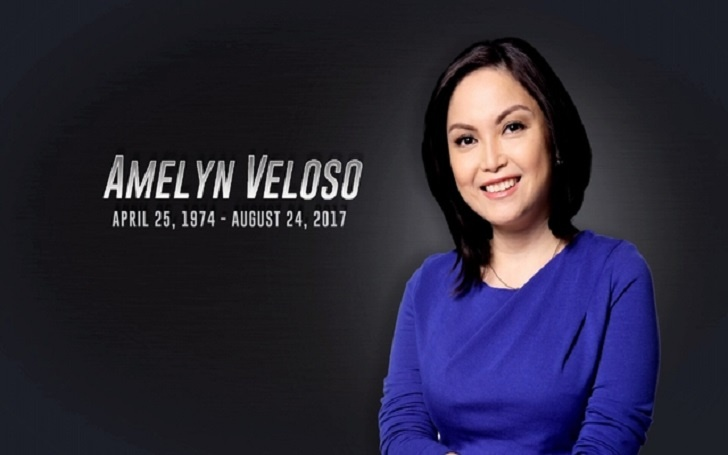 CNN Philippines anchor and senior correspondent, Amelyn Veloso died after a long battle with Cancer, She was 43