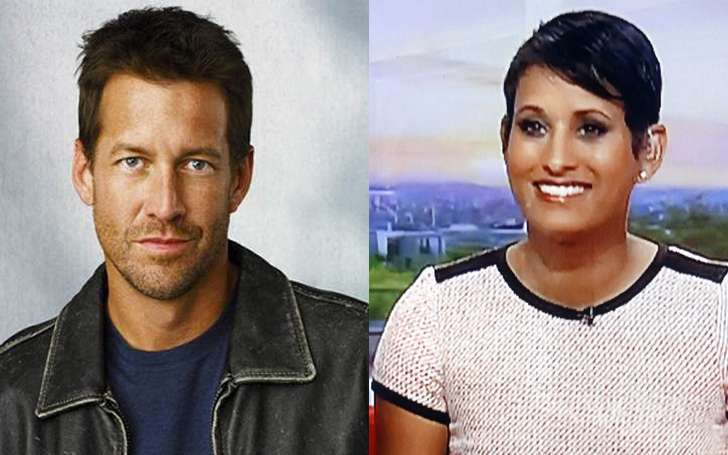Naga Munchetty and James Hagger