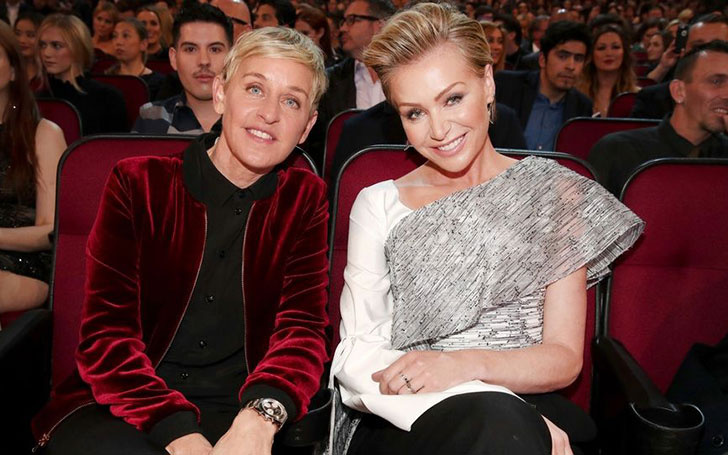 Ellen DeGeneres celebrating her 9th Wedding anniversary along with Wife; See the blissful Couple relationship