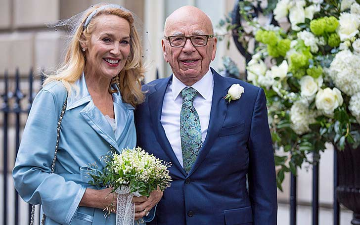 Famous Businessman Rupert Murdoch Married Several Times; Currently Married To Fourth Wife Jerry Hall Since 2016
