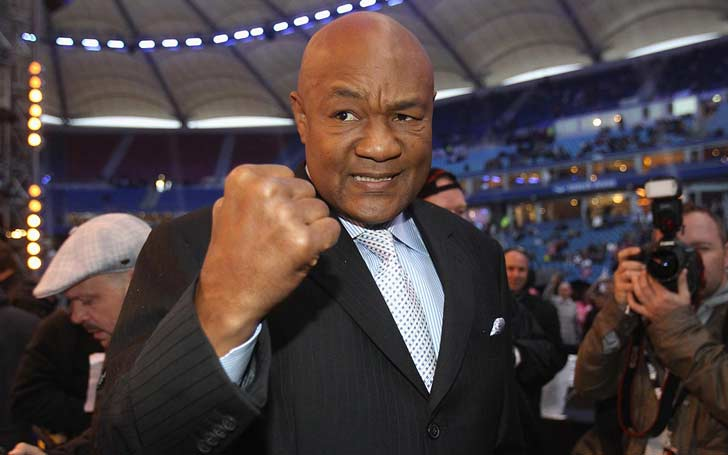 Former American Boxer George Foreman Married To His Fifth WIfe, Mary Martelly Since 1985; Previously Married To Four Wives