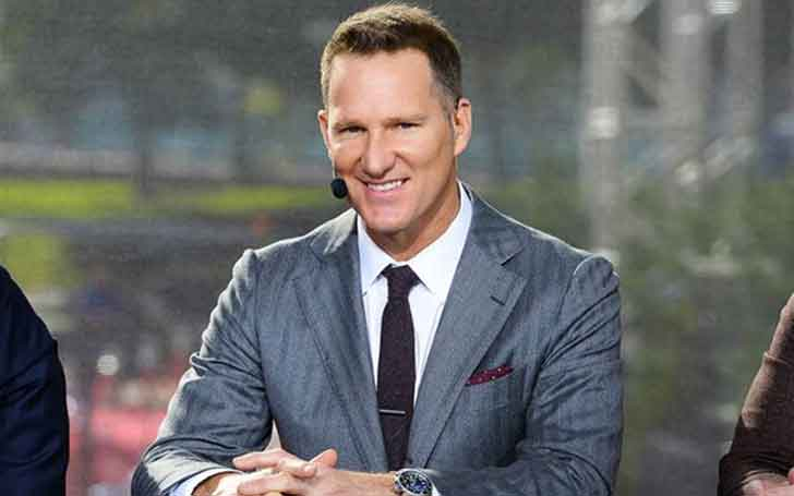 Former American Footballer Danny Kanell's Married Relationship With Wife Courtenay Kanell