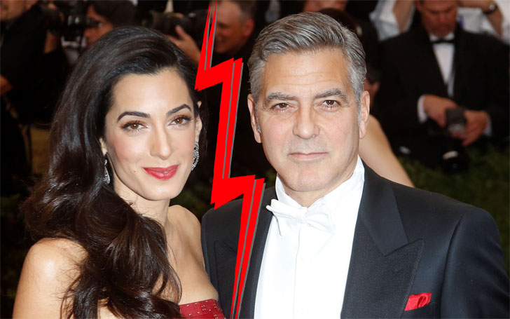 Divorce rumors surrounding George Clooney and his wife ...