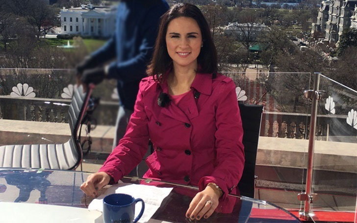 The American political correspondent Heidi Przybyla; Know her Relationship and Career
