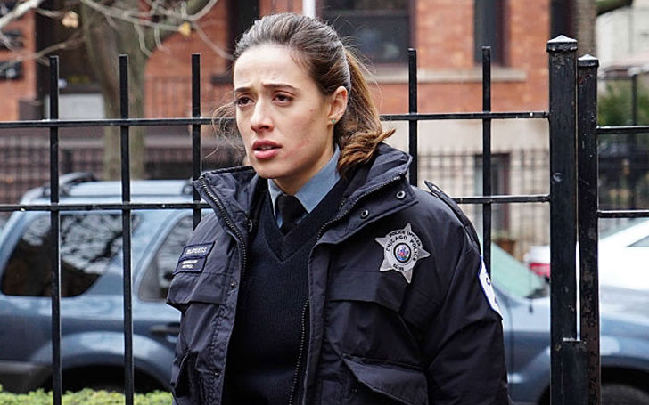 Marina Squerciati is about to give birth to her first child. Said a temporary goodbye to the show Chicago P.D because of her pregnancy