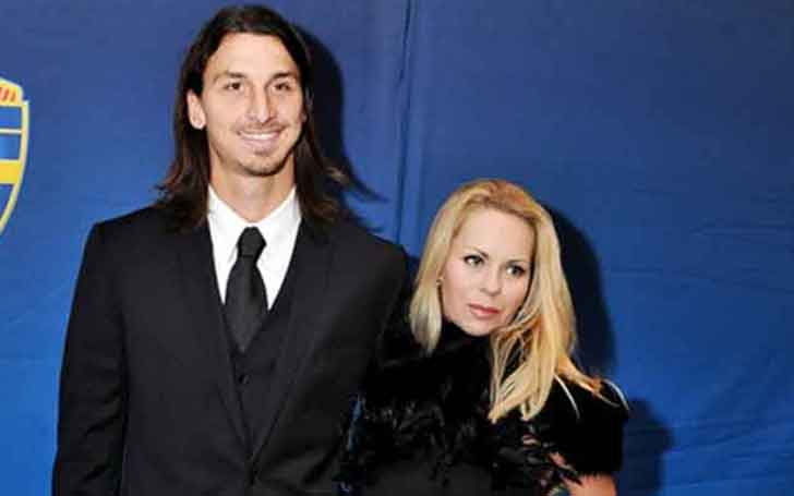 Is The Swedish Footballer Zlatan Ibrahimovic Married To His Partner Helena Seger; The Player Has Two Children