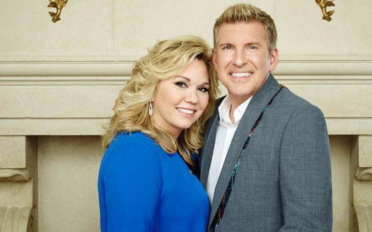 Julie Chrisley with husband Todd Chrisley