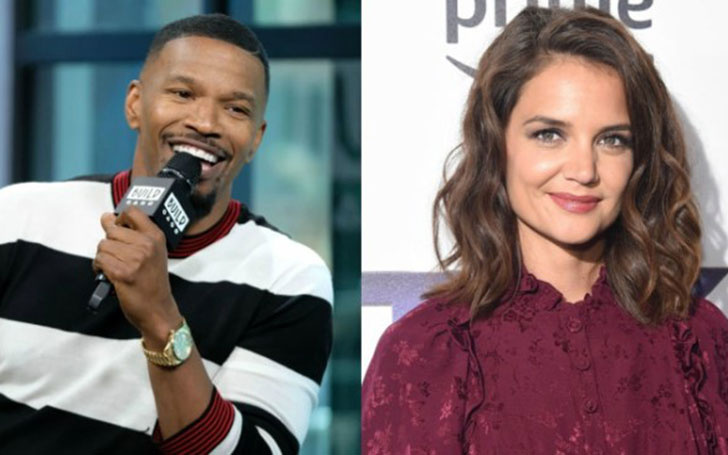Katie Holmes and Jamie Foxx finally announced their Relationship; See their Relationship