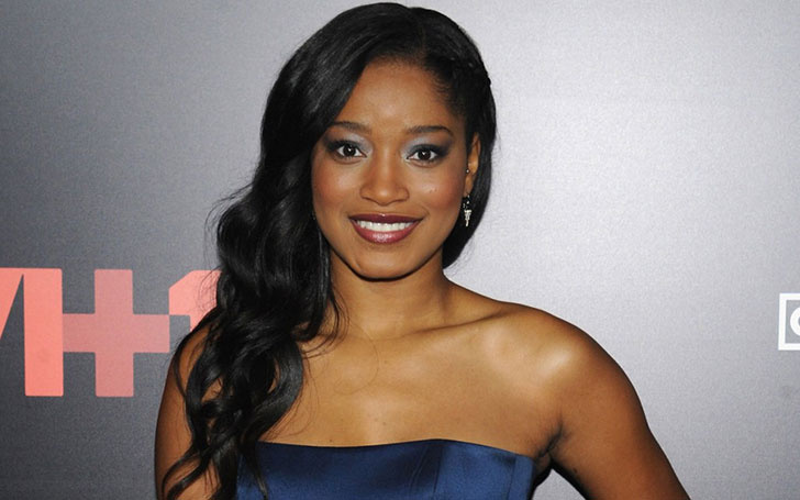 Keke Palmer Researching For Her New Song In a Strip Club In Atlanta Alongside Rapper Friends.