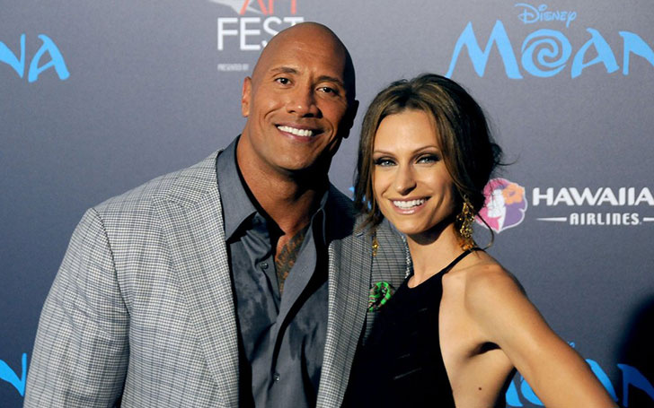 Lauren Hashian Girlfriend of 'The Rock' living happily together. The Couple Shares One Beautiful Daughter