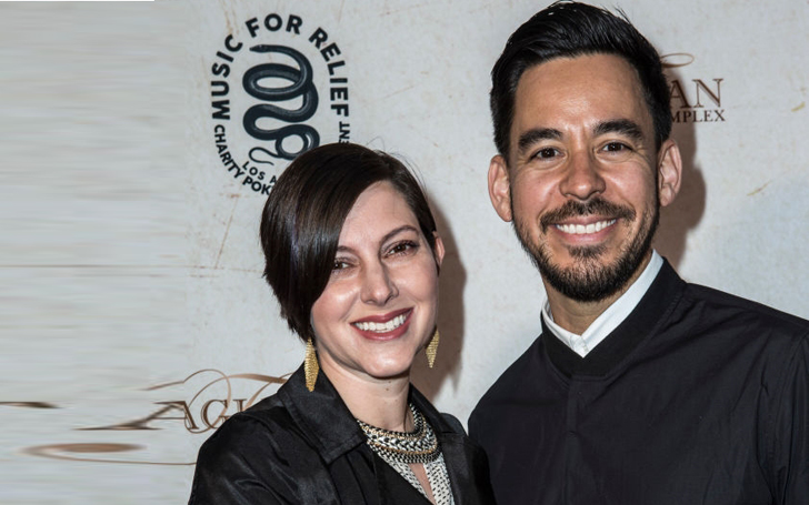 Mike Shinoda with charming, Wife Anna Hillinger