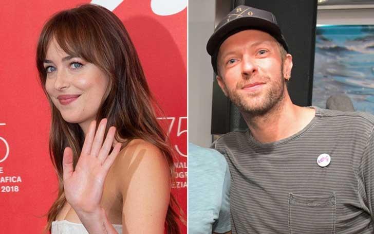 Love Is In The Air; Chris Martin And Dakota Johnson Rocks Matching Tattoos