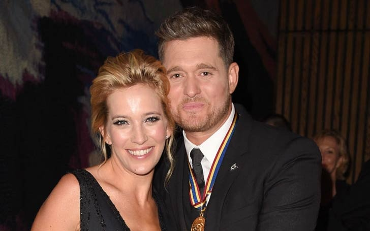 Michael Buble And Luisana Lopilato Expecting A Baby Girl