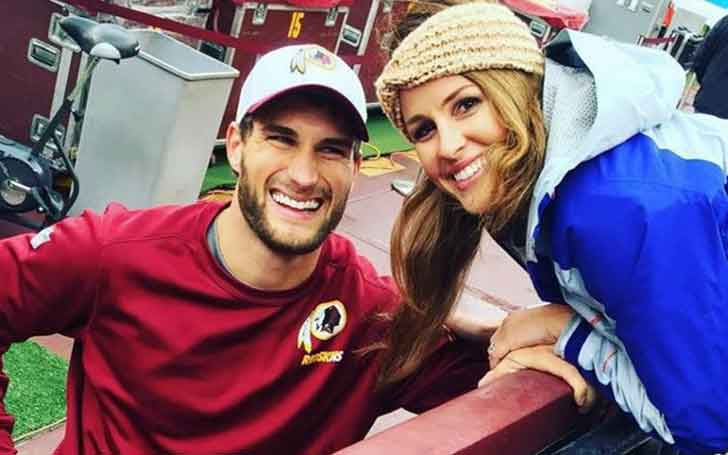 Minnesota Vikings Quarterback Kirk Cousins' Married Life With Wife Julie Hampton; Has A Son