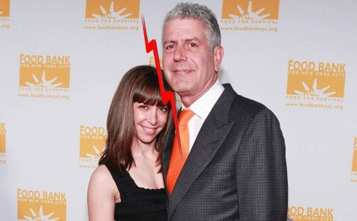 anthony bourdain ariane bourdain biography