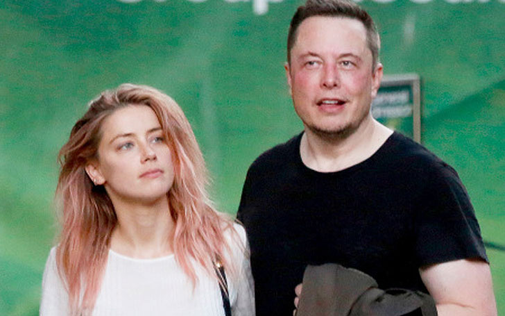 New Couple in Town!!! Amber Heard and Elon Musk were spotted on a Lunch date in LA