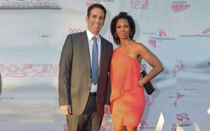 Newscaster Harris Faulkner and husband Tony Berlin are enjoying their married life with two daughters