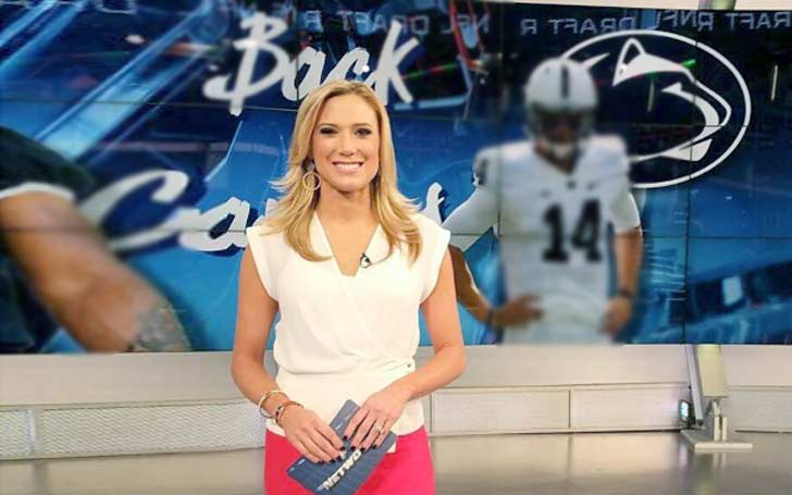 NFL Network Co-host Amber Theoharis In a Married Relationship With Todd Buchler; Details On Their Conjugal Life
