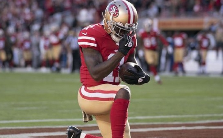 NFL Player Marquise Goodwin Scores Touchdown Hours After Newborn Son's Death