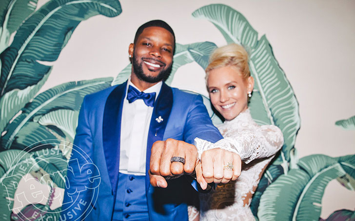Congratulations!!! Nicky Whelan and Kerry Rhodes, got Married after 2 years of Relationship,