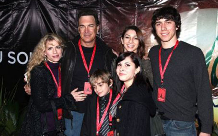 Patrick Warburton with charming, Wife Cathy Jennings