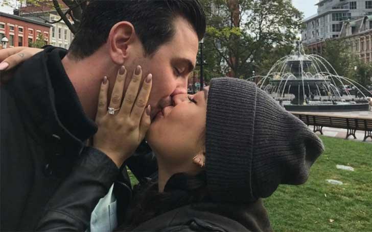Pretty Little Liars Janel Parrish Marries Her Long-term Boyfriend Chris Long