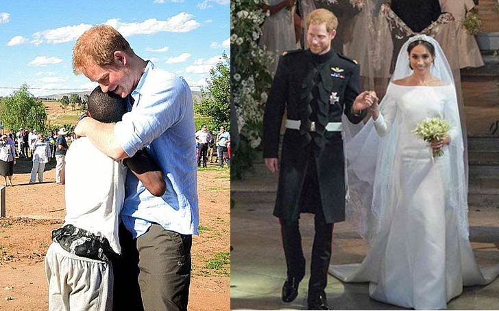 Prince Harry S African Orphan Bestfriend Of 14 Years Attends The Royal Wedding